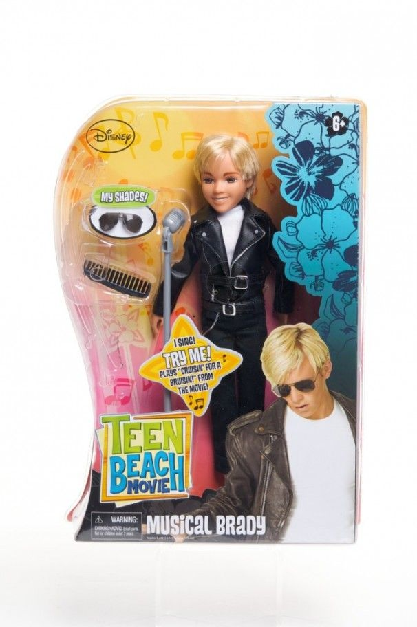 Teen Beach Movie Toys : Quot musical brady doll from teen beach movie disneychannel