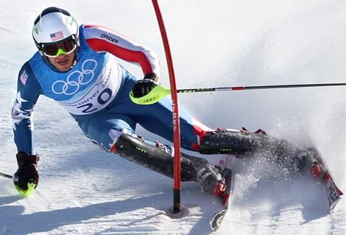 Bode Miller. I love how fast he skis, but most of all, I love how he does it his own way. You're fun to watch Bode.