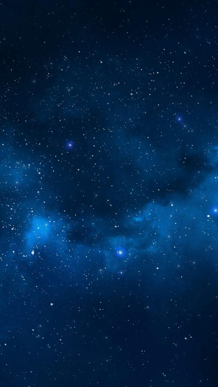 Iphone 8 Blue Stars Wallpaper Best iPhone Wallpaper