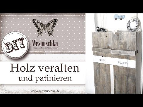 DIY : Schablone Selber Machen | Shabby Chic | How Do I Make A Stencil