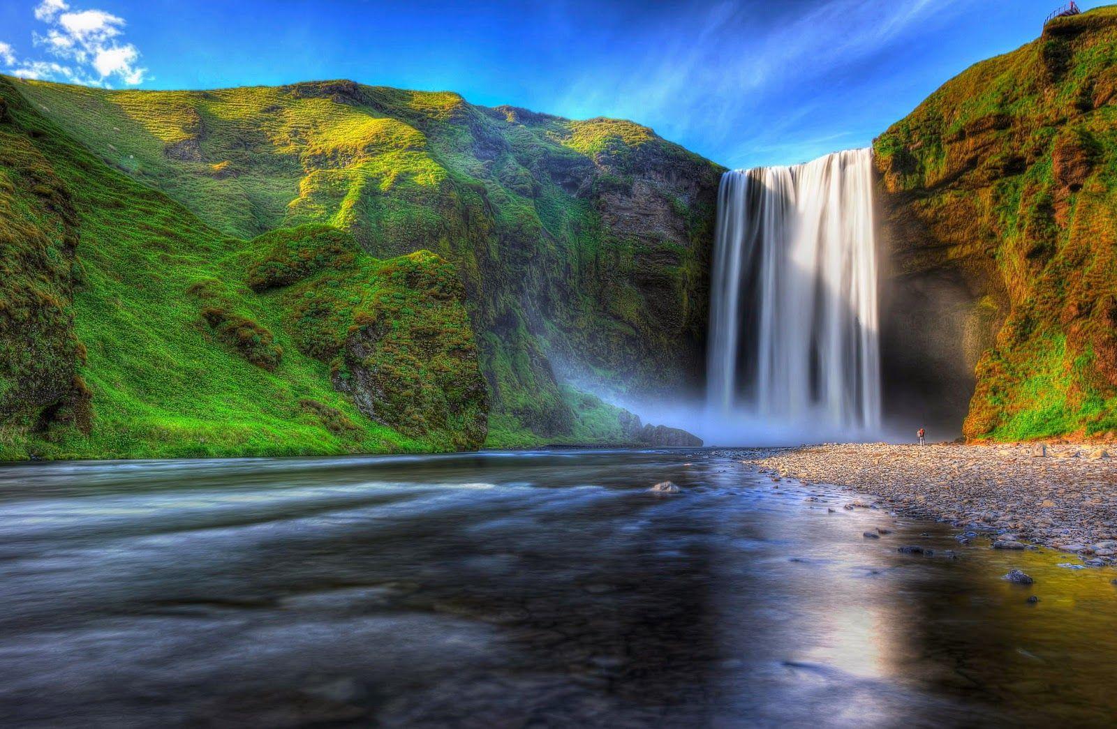 33 fotograf as de cascadas con hermosos paisajes naturales - Paisajes de jardines ...