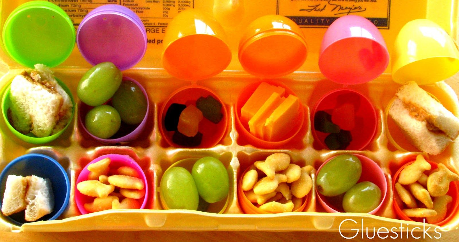 Easter Egg Lunch Hunt: Make lunch fun and interactive!