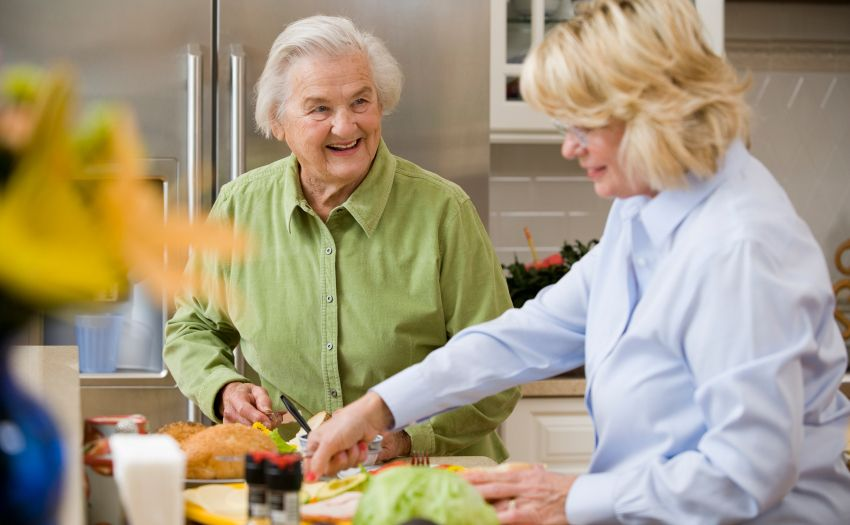 How to help your parents eat healthy and exercise more
