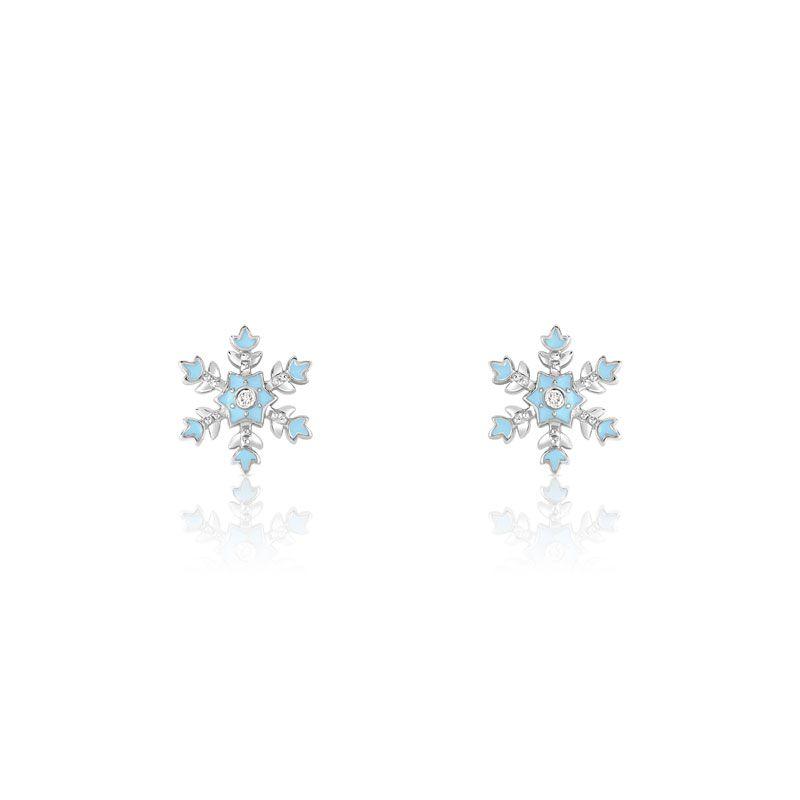 boucle d'oreille la reine des neiges