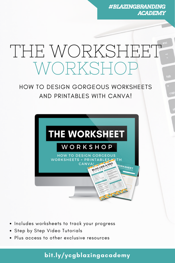 Want to learn How to Create Worksheets? Check out this workshop ...