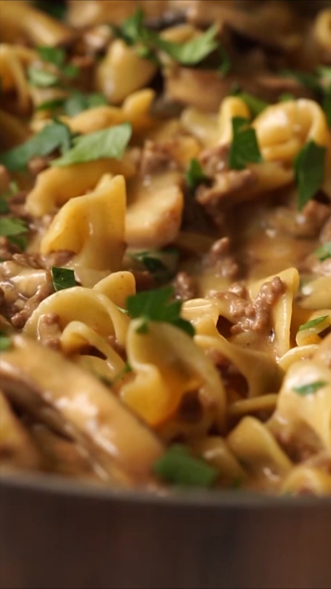 One Skillet Ground  Beef Stroganoff images