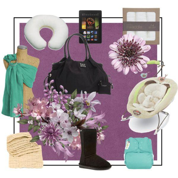 """new mama essentials"" by jordandouglas on Polyvore"