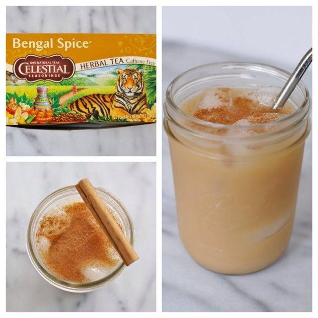 Bengal Spice Iced Chai Tea Latte (Caffeine Free)