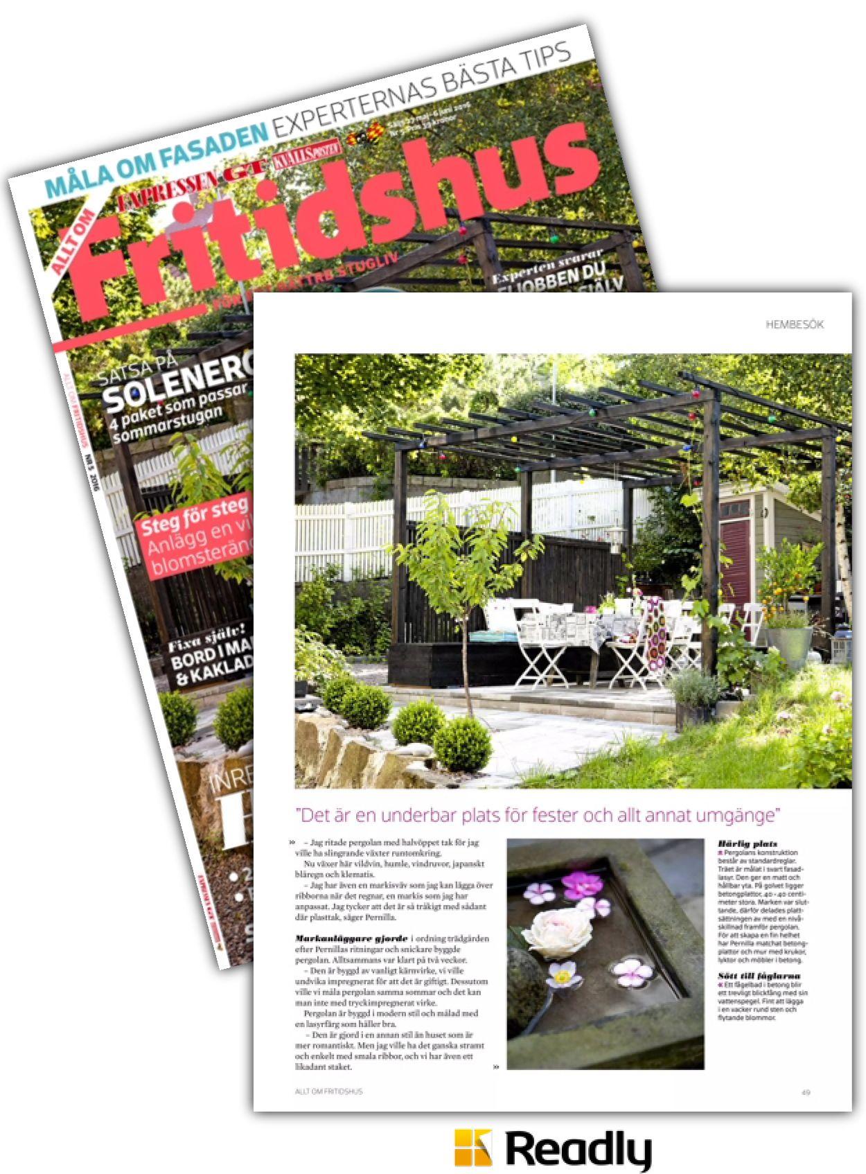Tips om Allt om Fritidshus 27 maj 2016 sidan 49