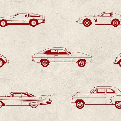 Muscle Car Wallpaper Mural