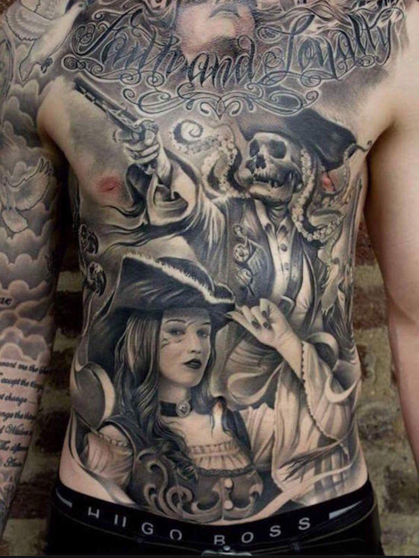 Pirate Tatouage Tatouage Realiste Tatoo