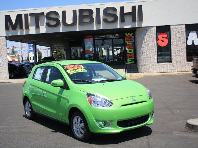 2014 Mitsubishi Mirage With A Sweet Neon Green Paint Job Bakersfield Mitsubishi Mitsubishi Mitsubishi Mirage Mitsubishi Cars