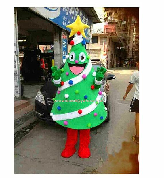 Xmas Tree Mascot Costume Xmas Tree Cosplay Adults Costumes Clothing Diy Xmas Tree Costumes Party Costumes Party Cospl Tree Costume Xmas Tree Diy Christmas Tree