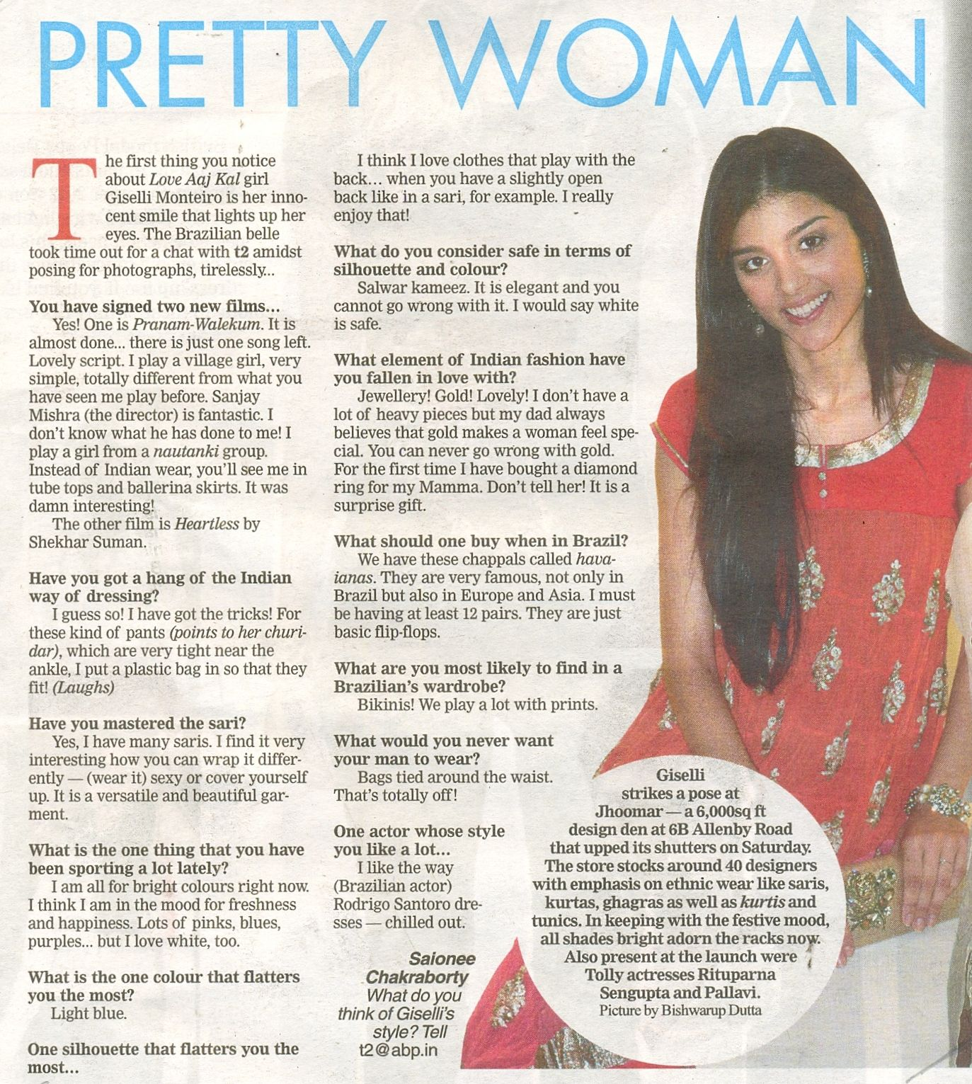 Jhoomar In The Telegraph Media Pinterest Women Red Put That Light Out
