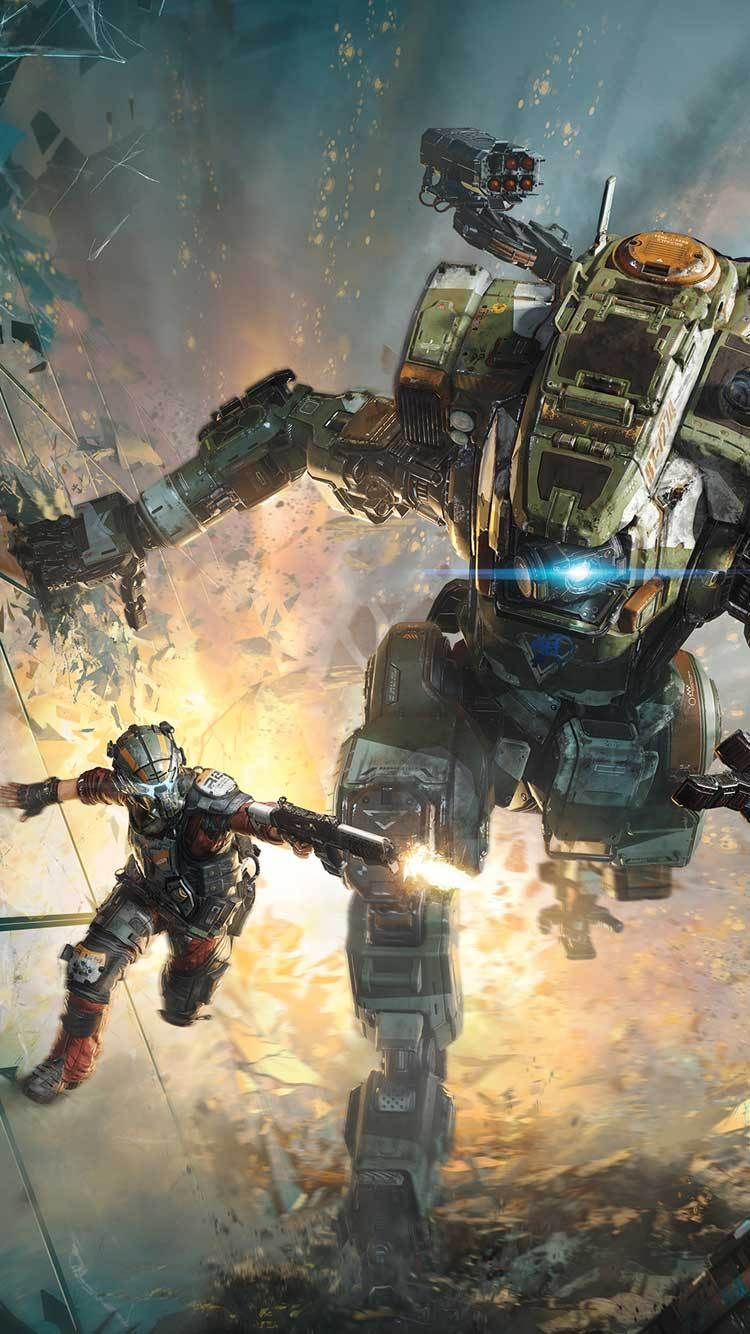 30 Hd Iphone Wallaper And Background Ideas Titanfall 2
