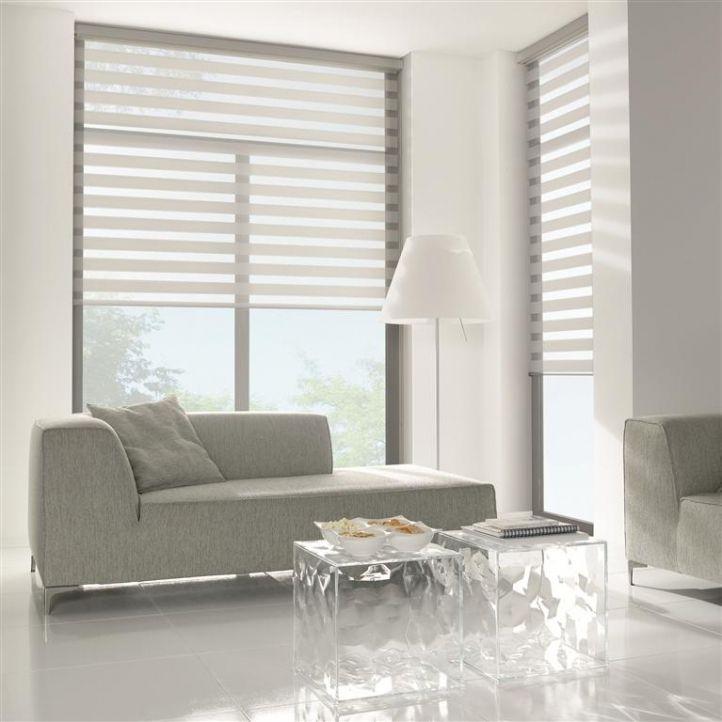rolgordijnen grijs in woonkamer | Verkrijgbaar bij ...