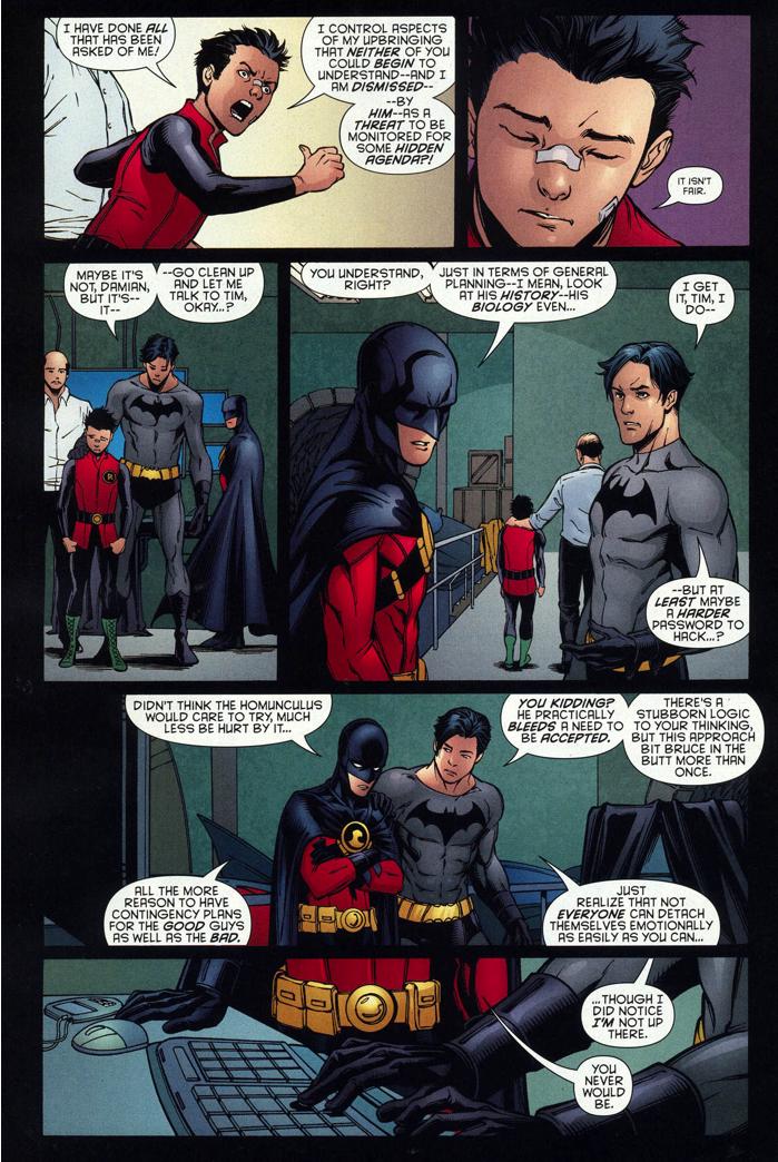 Damian Wayne's sensitivity and the bond between Dick ...