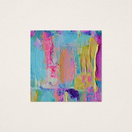 Square Business Gift Art Message Cards More