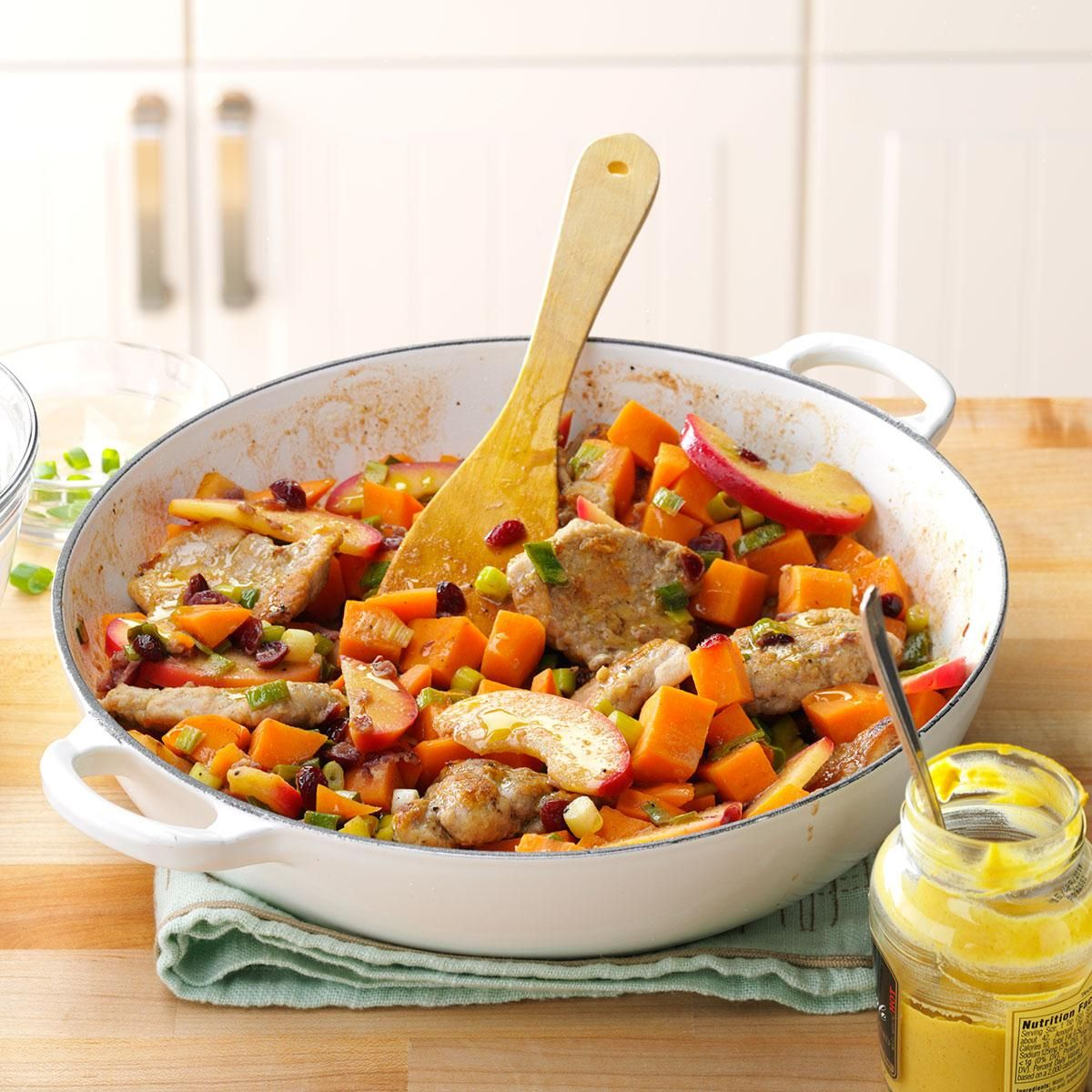 Healthy One Pot Meals 6 Easy Diabetic Dinner Recipes: Pork With Sweet Potatoes