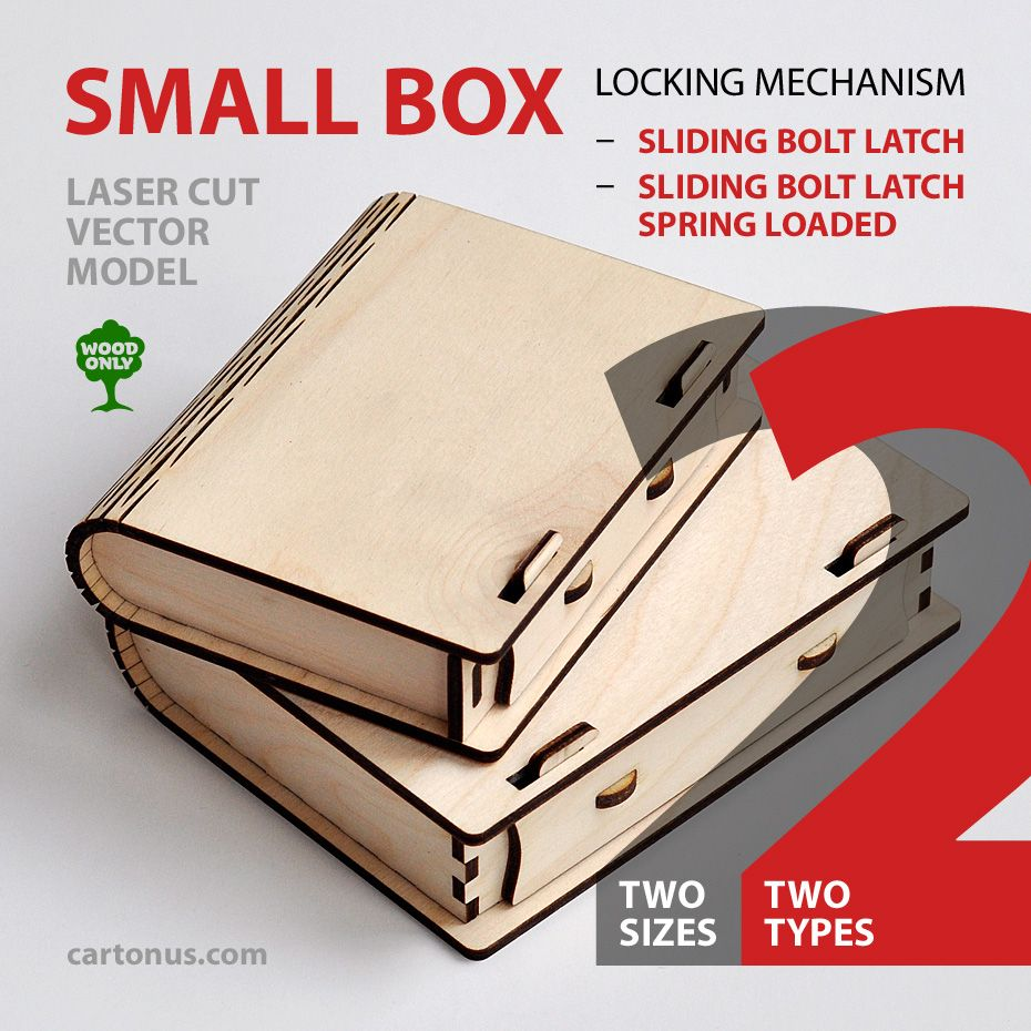 Lasercut vector model suitable for business card holder, playing ...