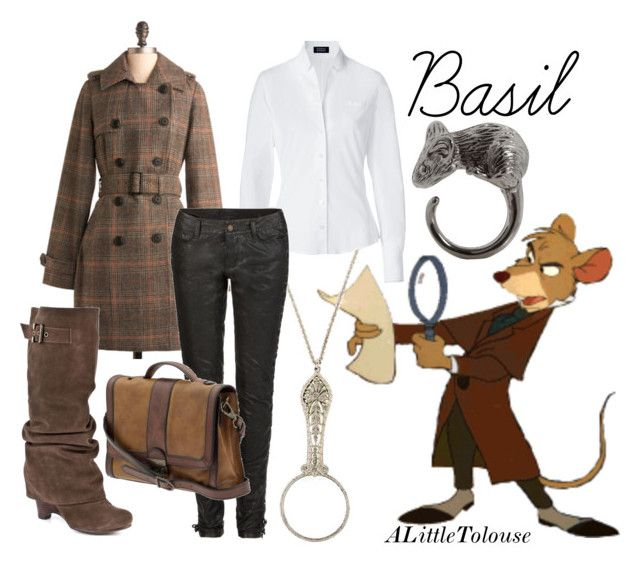 """""""Basil of Baker Street."""" by alittletoulouse ❤ liked on Polyvore"""
