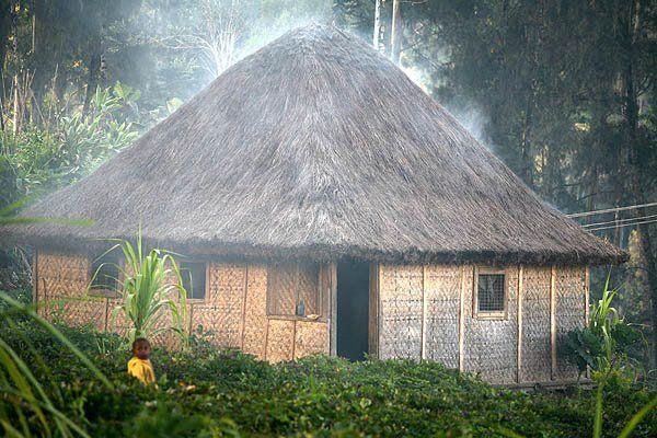 Wabag, Enga Province in Papua New Guinea