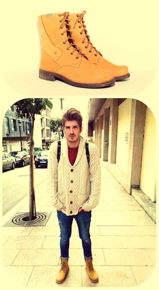 Me encanta el amarillo pollito y mucho mas en mis botas #clubBISON