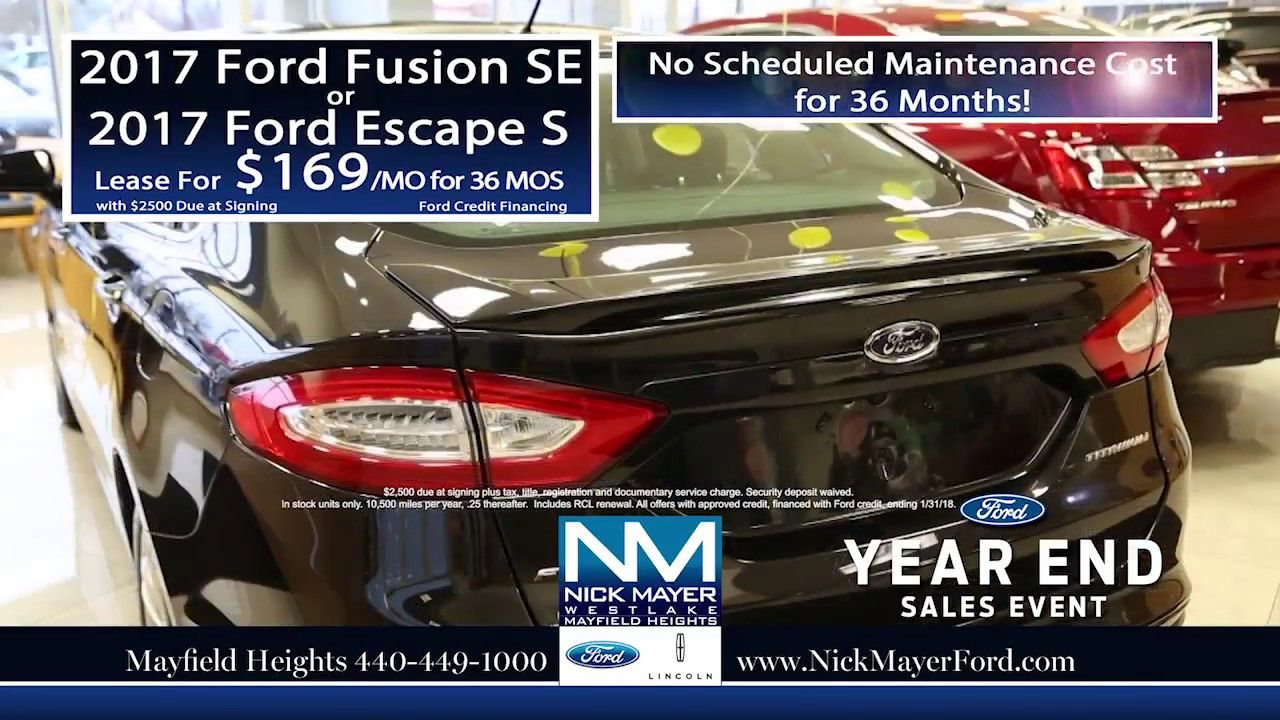 Best Deals When You Lease A New Ford Focus Euclid Oh All Of