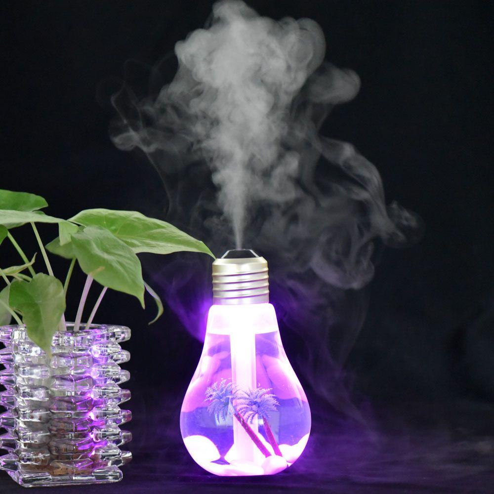 Usb Portable Ultrasonic Humidifier Led Aroma Essential Oil Diffuser Difusor De Diffuser 400ml Aromatherapy N Humidifier Essential Oils Aroma Essential Oil Lamp