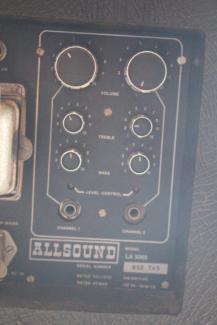Allsound LA 5060 LC 80 Rotationslautsprecher Leslie Box Vintage in Dithmarschen - Buesum | Musikinstrumente und Zubehör gebraucht kaufen | eBay Kleinanzeigen