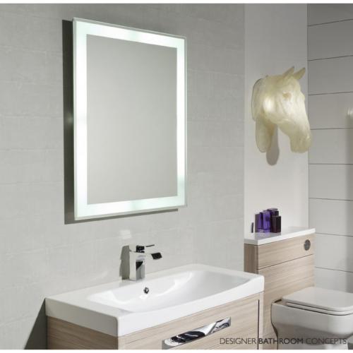 Home Bathroom Wall Mirror Ideas Lighted Vanity