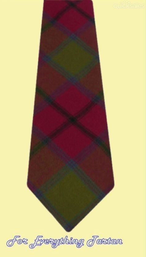 Connaught Irish Tartan Mens Neck Tie Straight by JMB7339