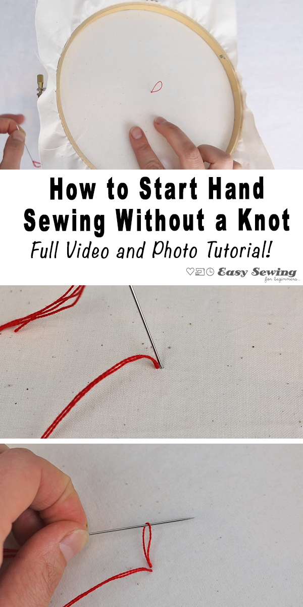 Photo of How to Start Sewing Without a Knot!
