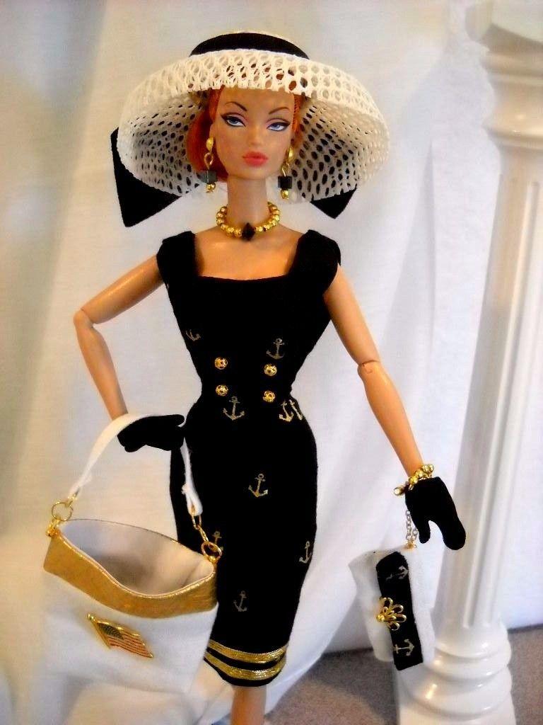 Vintage Repro Articulating Barbie Silkstone FR Parker Fashion ...