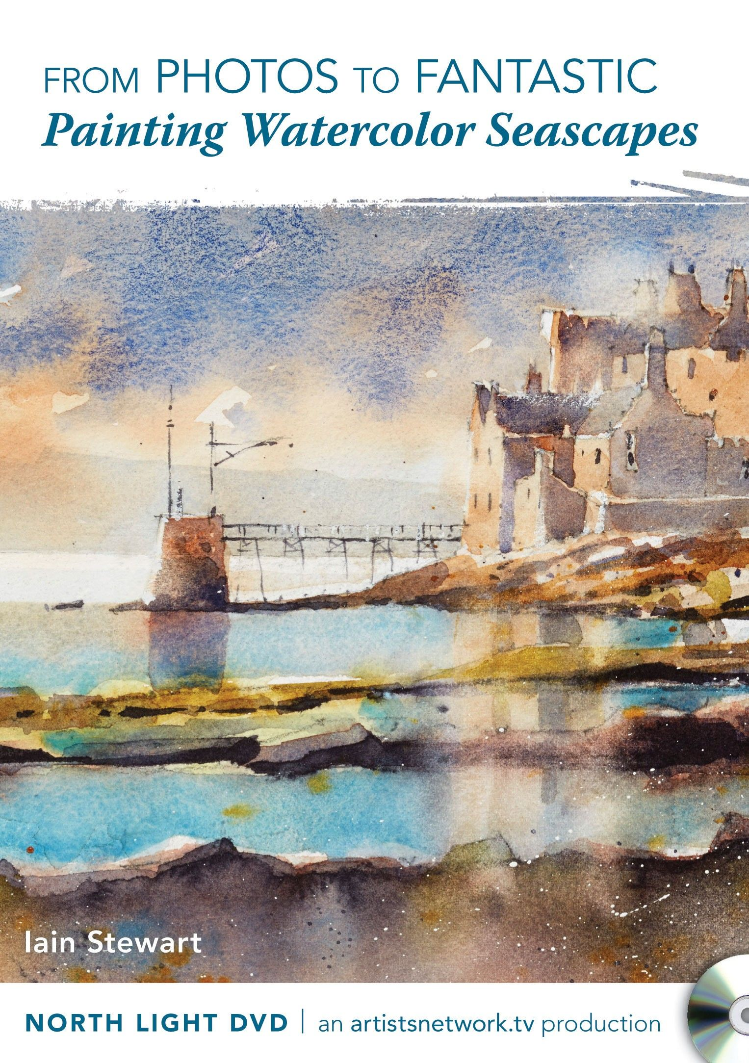 From Photos To Fantastic Painting Watercolor Seascapes