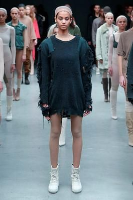 Kanye West x Adidas Originals Fall 2015 Ready-to-Wear Fashion Show: Complete