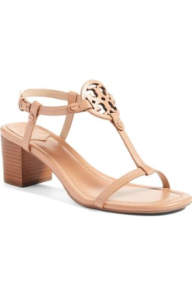 Tory Burch Miller Block Heel Sandal (Women) available at #Nordstrom