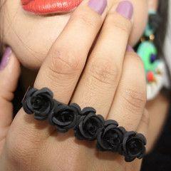 Black Rosa Ring