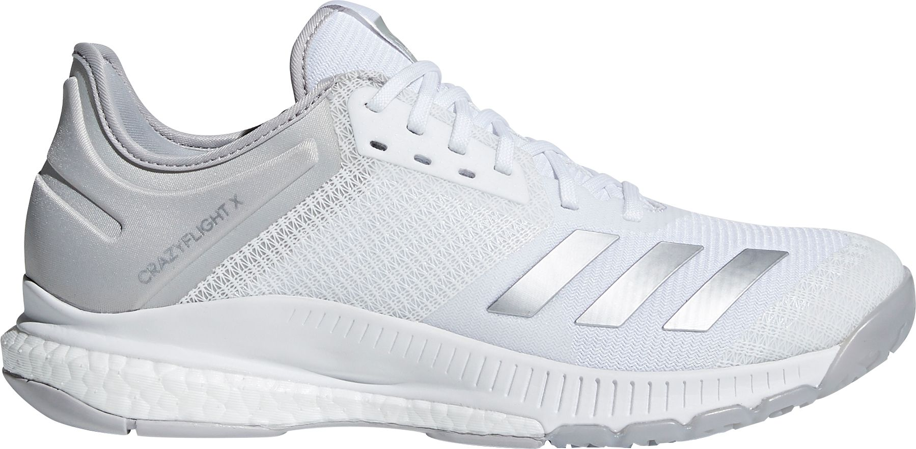 pretty nice f6768 5317c adidas Womens Crazyflight x 2.0 Volleyball Shoes, White