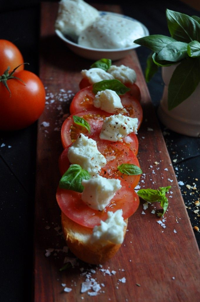 Ultimate Tomato and Cheese Sandwich with Fior de Latte!