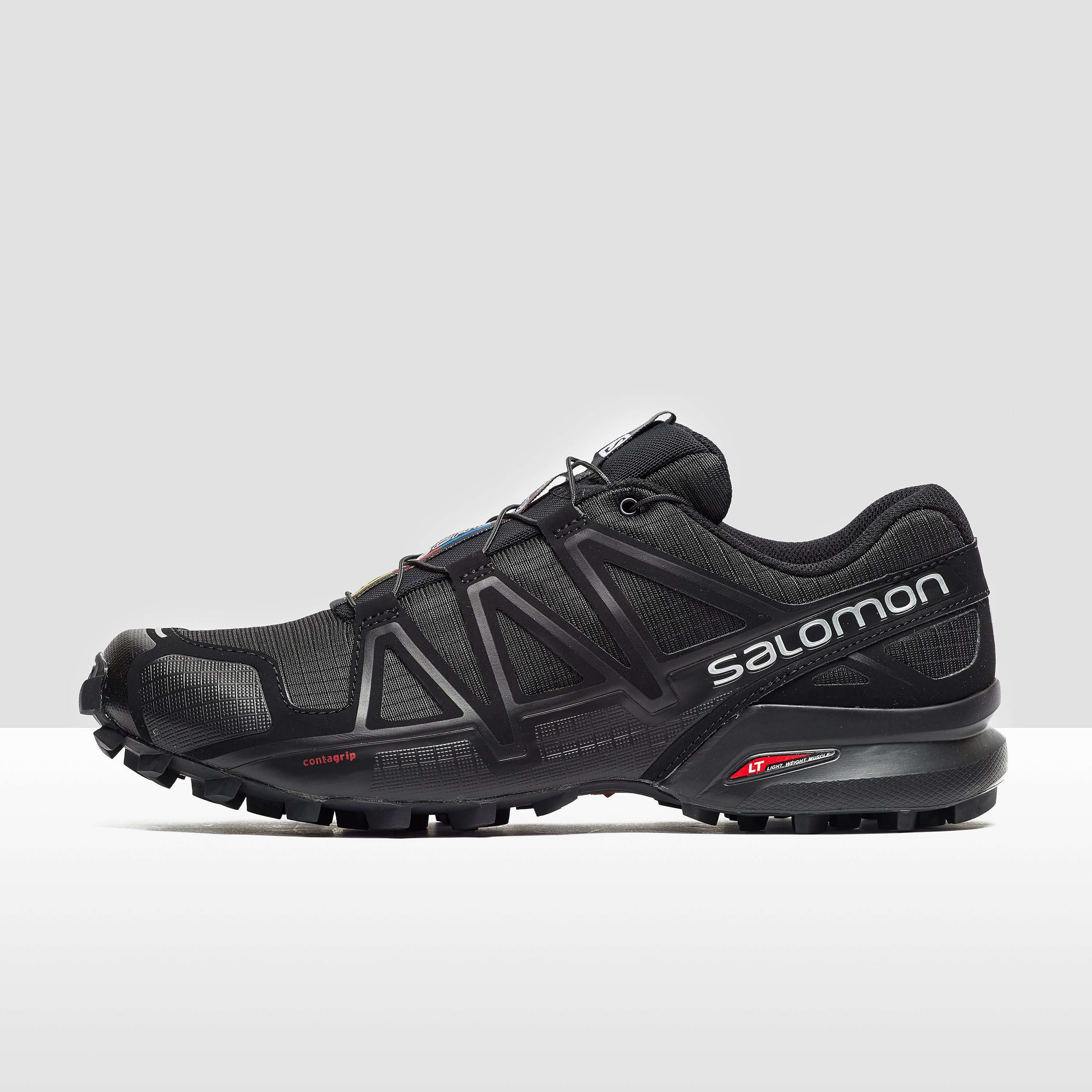 Salomon Speedcross 4 Men's Trail Running Shoes - find out more on our site. Find the widest range of sports equipment from top brands. #trailrunningshoes