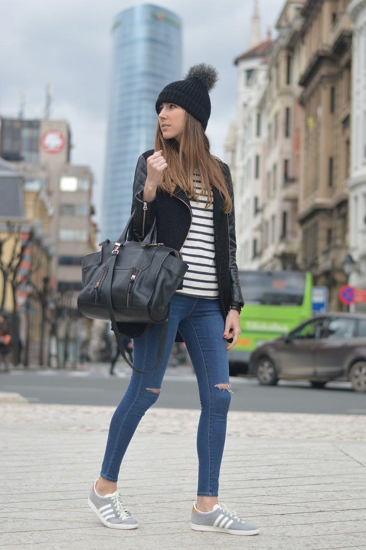 Gacelas de asfalto   Moda estilo, Ropa adidas y Ropa gris