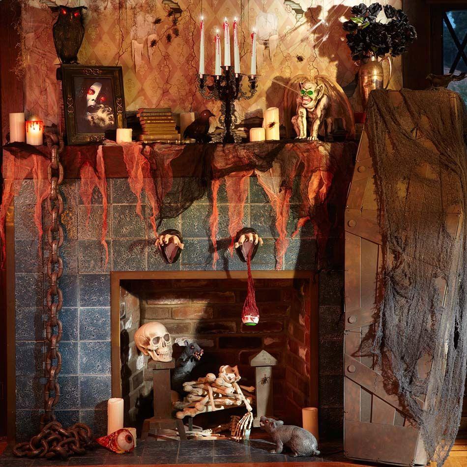 Déco Halloween afin de se plonger dans l\u0027ambiance de cette fête si - halloween house decoration ideas