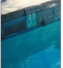 Depth Marker Tiles Pool Waterline Www Decorativepooltiles