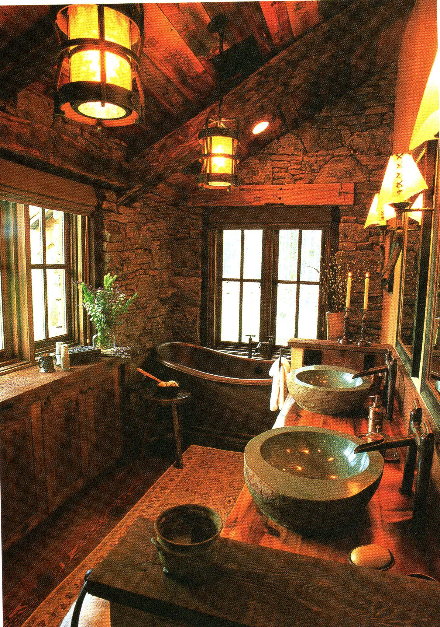 1000+ images about bathroom idaes on pinterest | log cabin