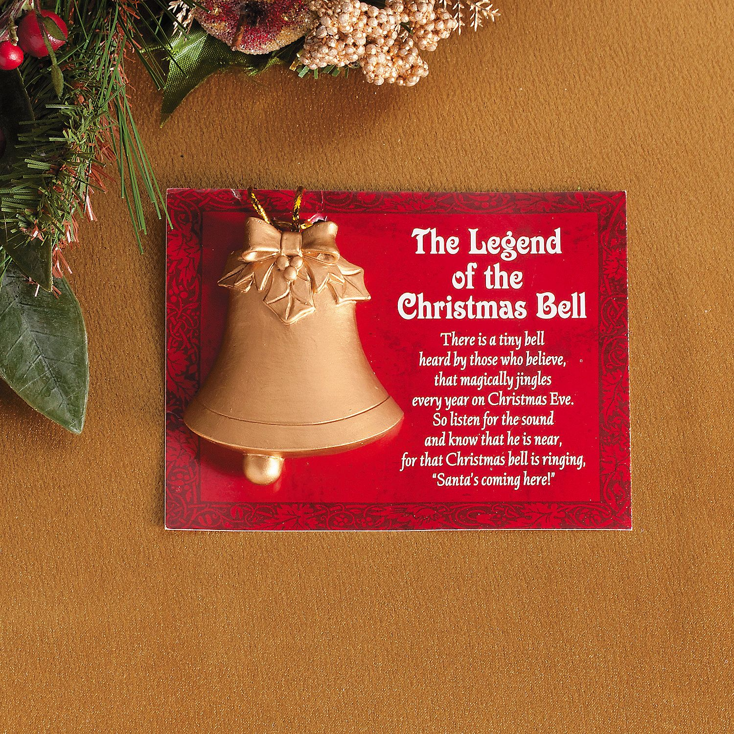 "Story Behind Christmas Tree: ""Legend Of The Christmas Bell"" Christmas Ornaments"