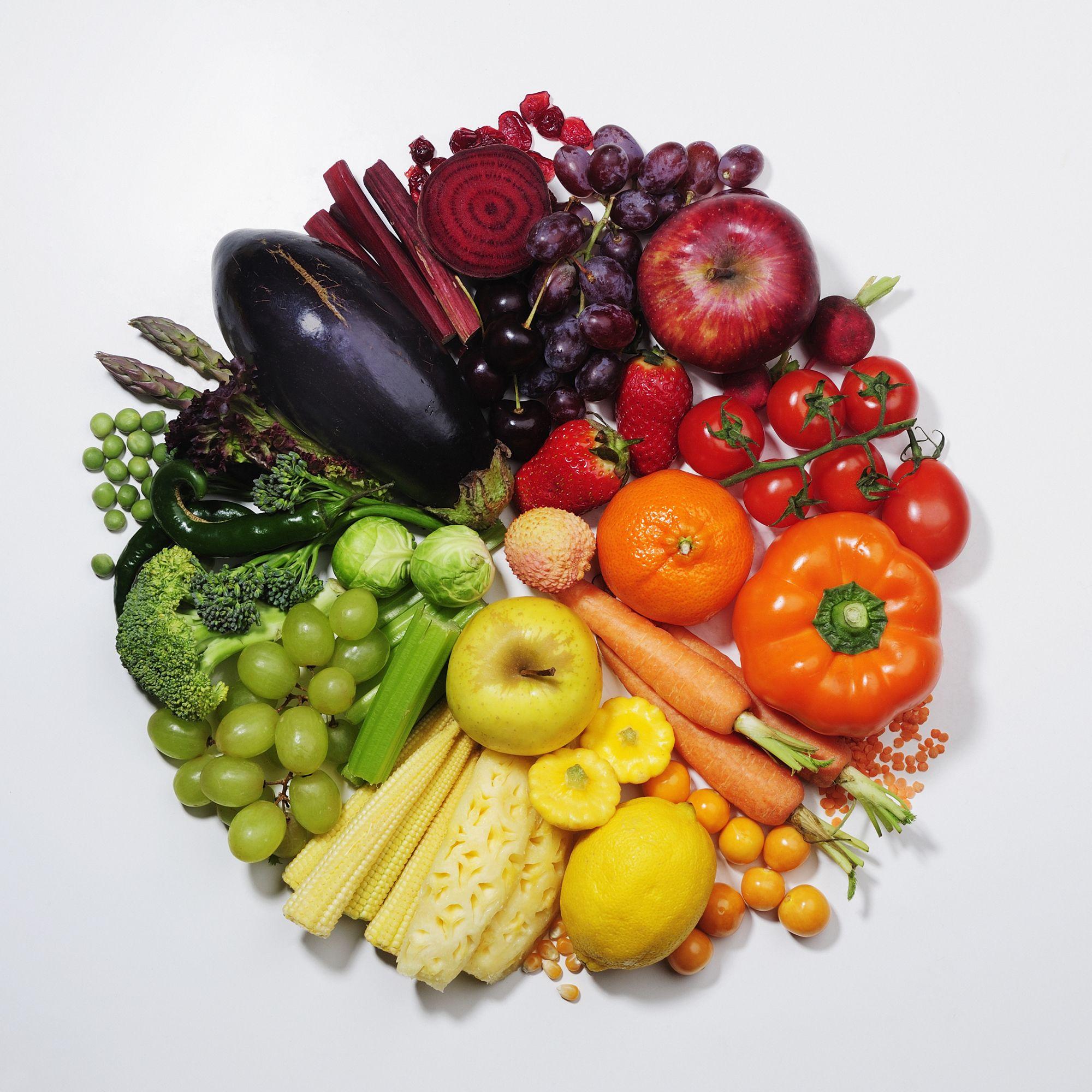 Nada como una rica variedad de frutas y verduras para la - Cocinar verduras para dieta ...