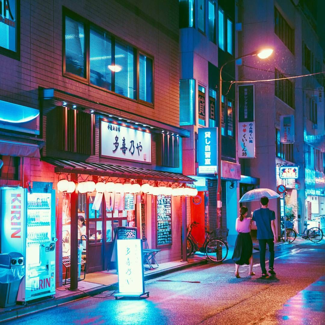 N I G H T L I F E Neon Aesthetic Night Photography Urban