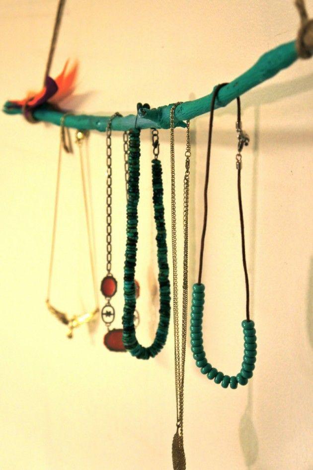 36 Awesome Ideas of DIY Wall Jewelry Organizers   Diy wall, Walls ...
