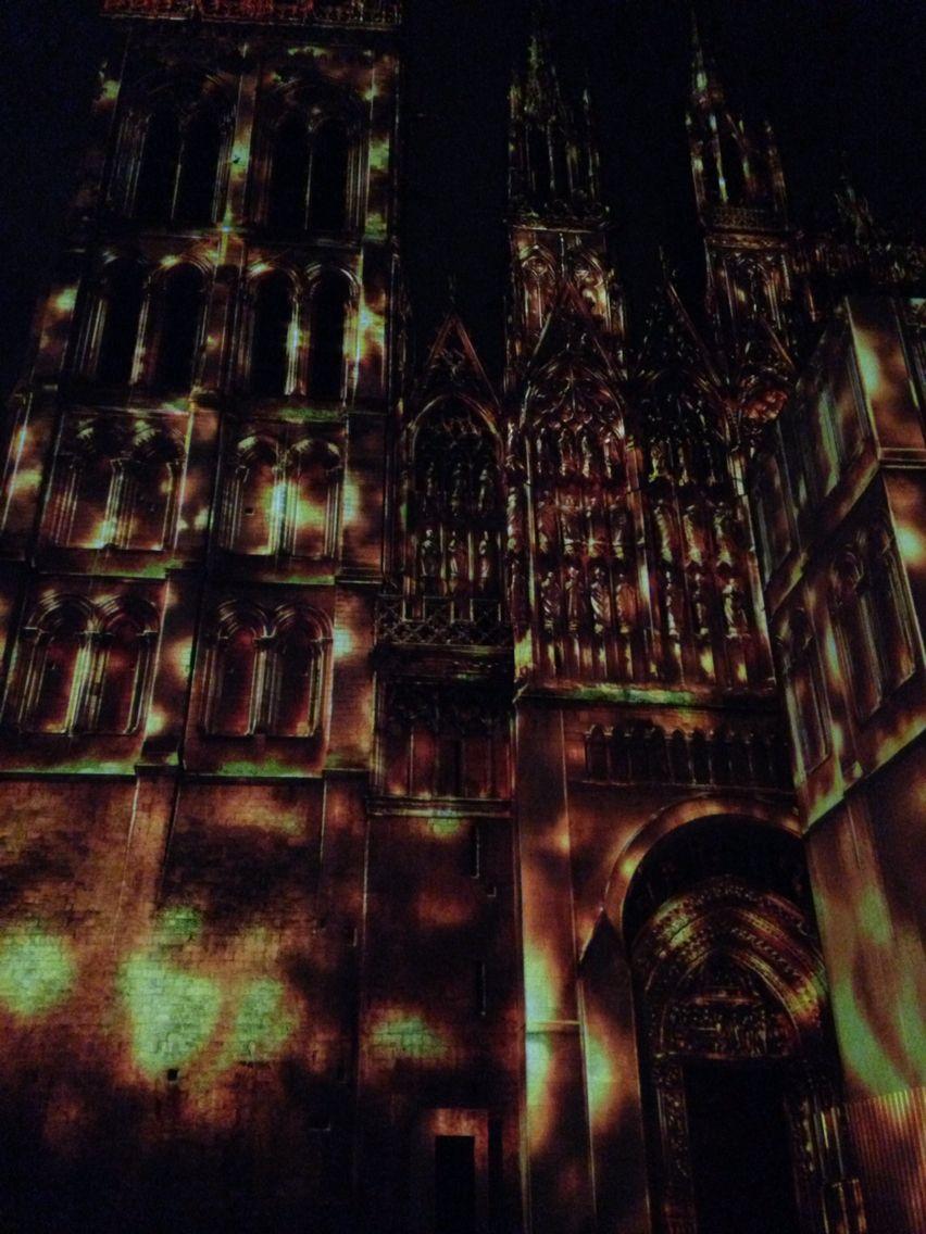 Cathedrale en lumière